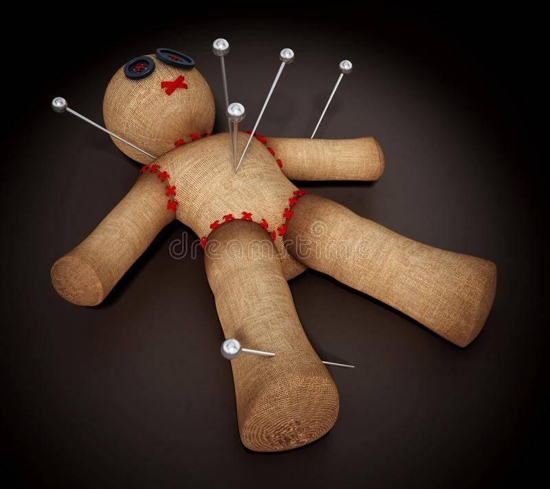 Как сделать куклу вуду на человека: самостоятельно в домашних условиях