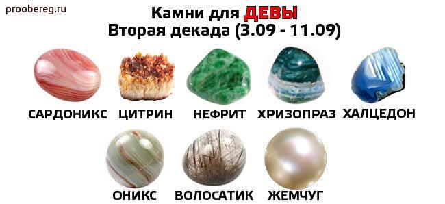 Камни для девы: какой талисман подходит женщинам, оберег для мужчин, амулет по гороскопу и по знаку зодиака