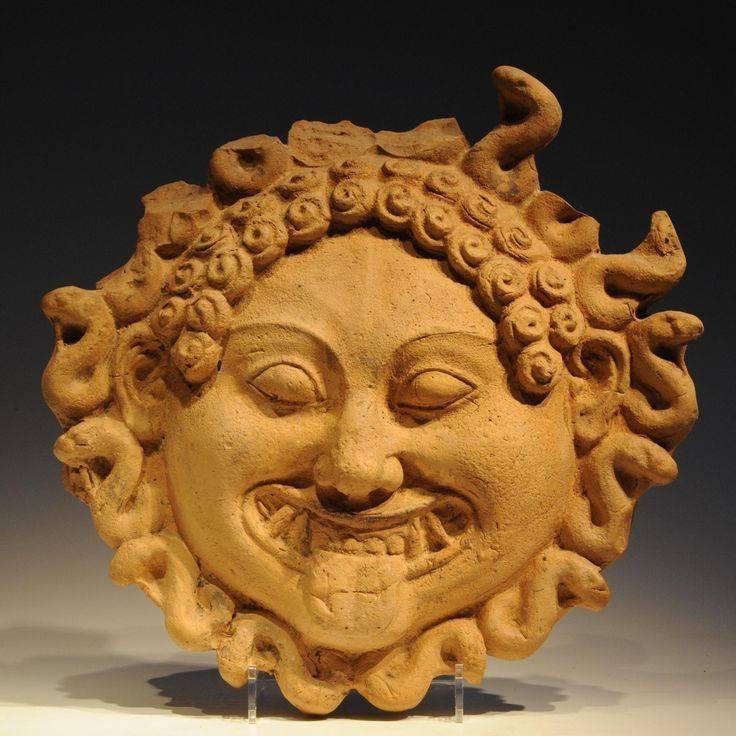 Голова горгоны - мифы древней греции