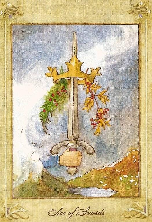 Значение карты туз мечей в таро
