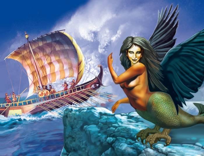 Морские чудовища – мифология