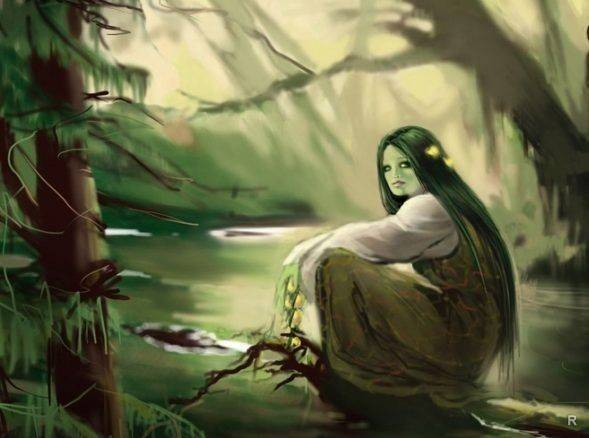 Мавки-навки — злые духи из славянских легенд   | магия любви