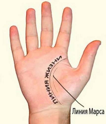 Линия ангела хранителя на руке: значение, фото