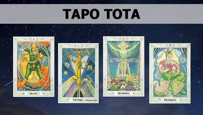 Галерея карт Таро Тота Алистера Кроули