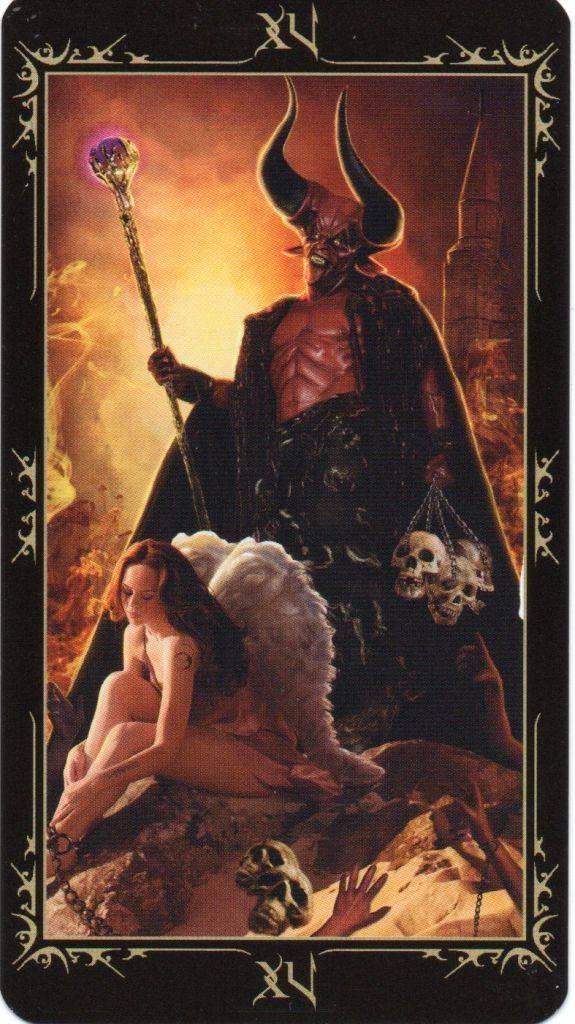 Дьявол таро тота: значение и толкование карты