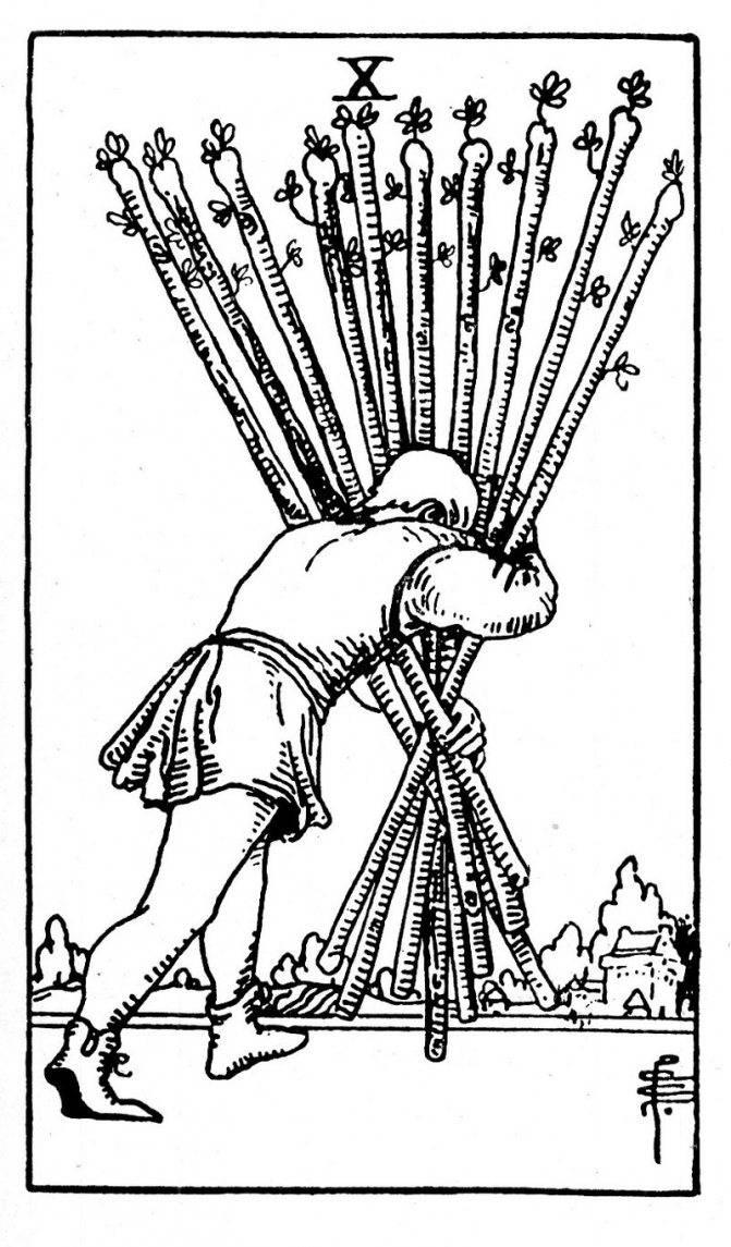 Рыцарь жезлов таро тота: общее значение и описание карты