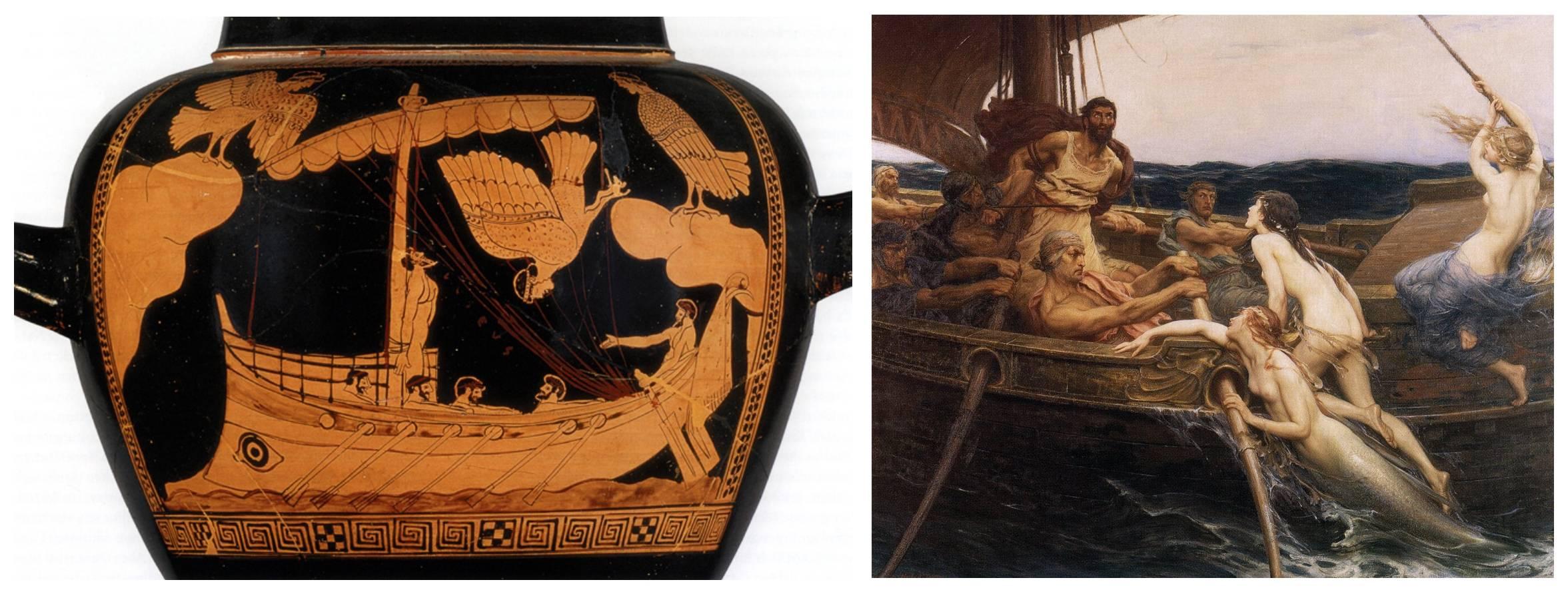 Что собой представляли сирены. мифология древней греции