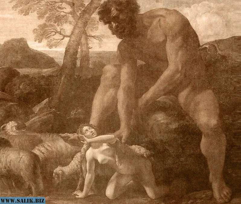 Нефилимы: огромные дети людей и ангелов
