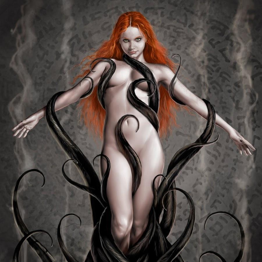 Лилит — демоница, супруга люцифера и покровительница разврата