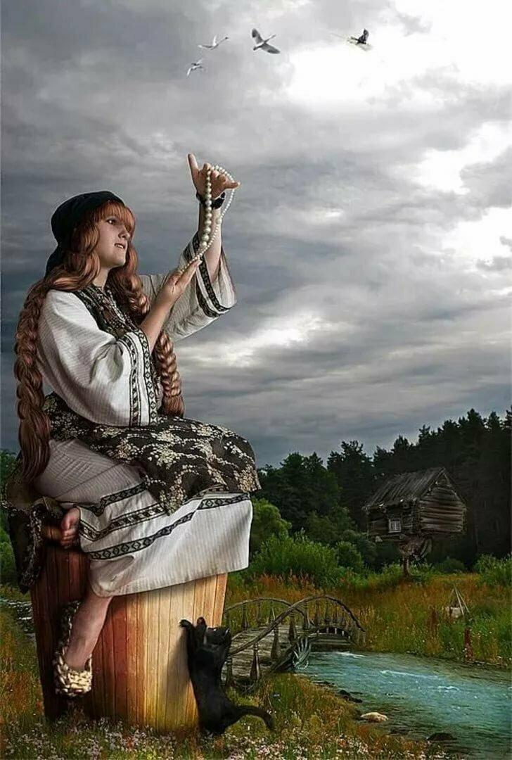 Баба-яга — славянская богиня | славяне | багира гуру