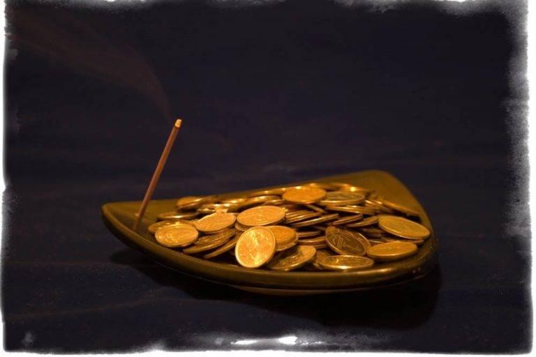 Черная магия на привлечение денег поможет быстро разбогатеть