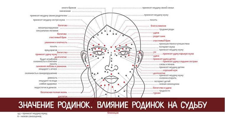Родинка на подбородке: описание, значение невуса у мужчин и женщин, удаление нароста на бороде