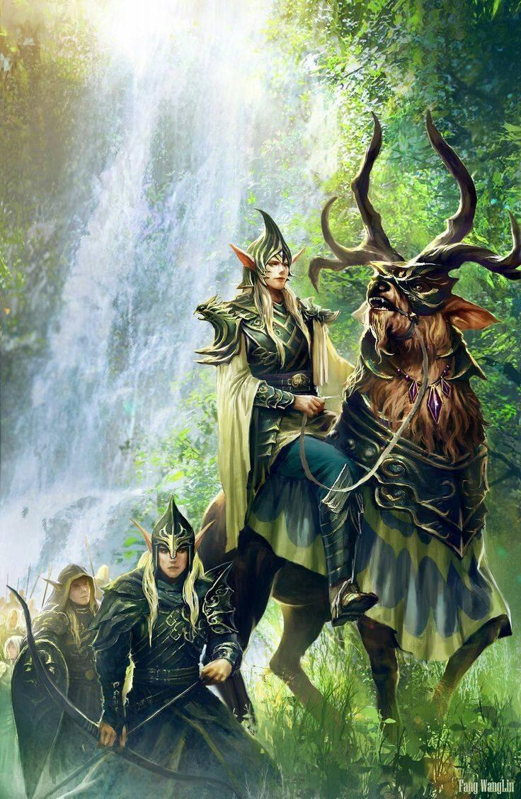 Как кличут эльфов в мифах различных народов — имена эльфов