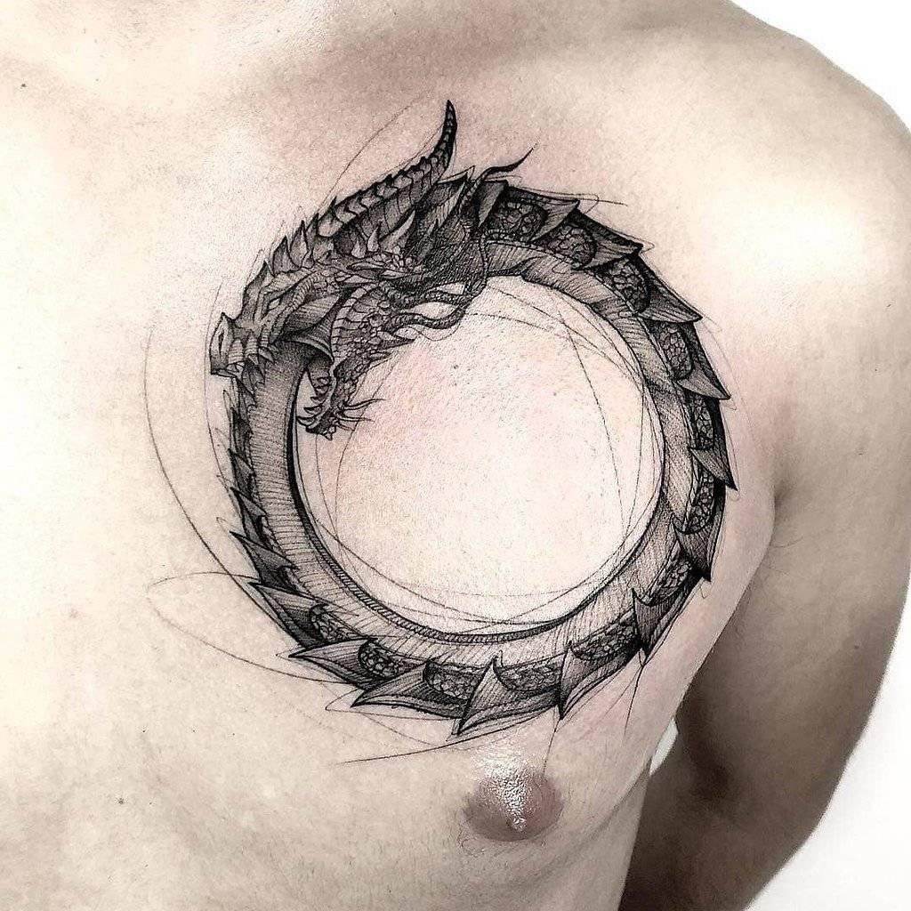 Значение символа уроборос — змея, кусающая себя за хвост