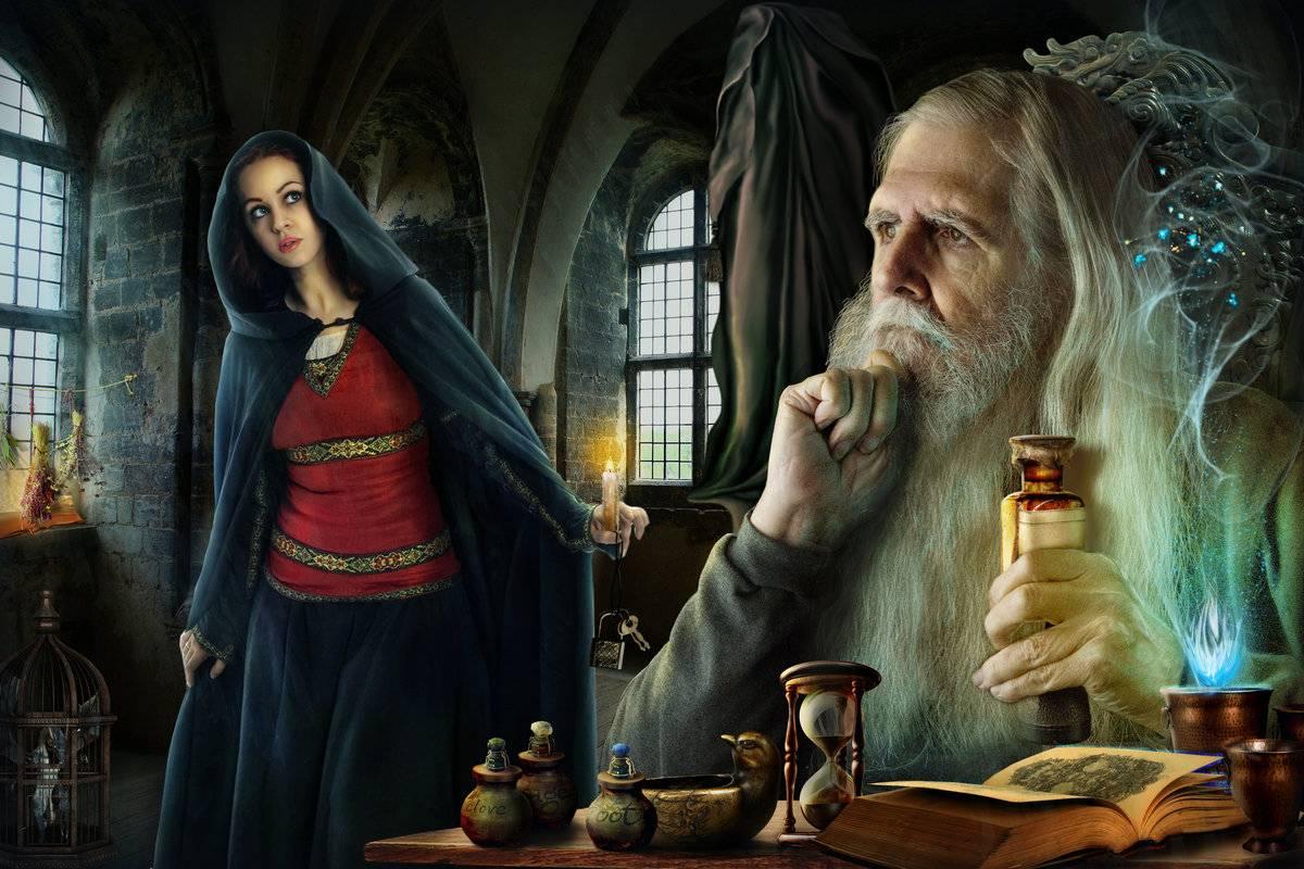 Как стать колдуном и белой или черной ведьмой в реальной жизни