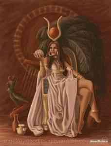 Астарта - небесная демоница и звезда среди богов | мусагет
