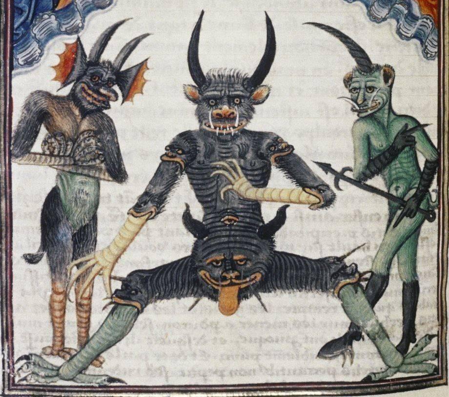Низшие демоны или бесы