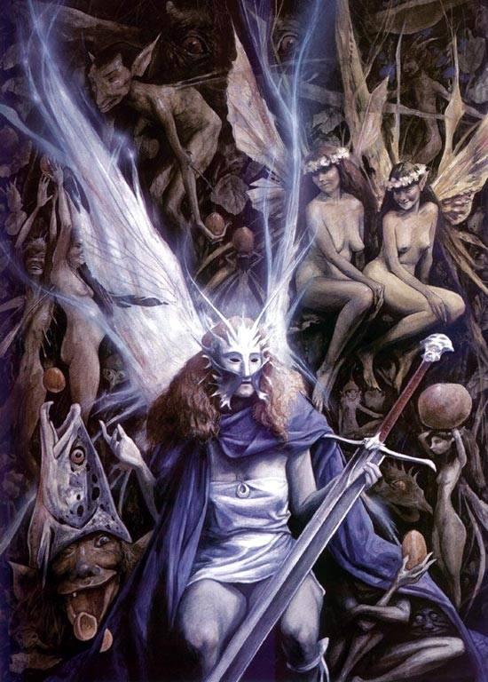 Скандинавский гномик. альвы — эльфы и гномы из германо-скандинавской мифологии