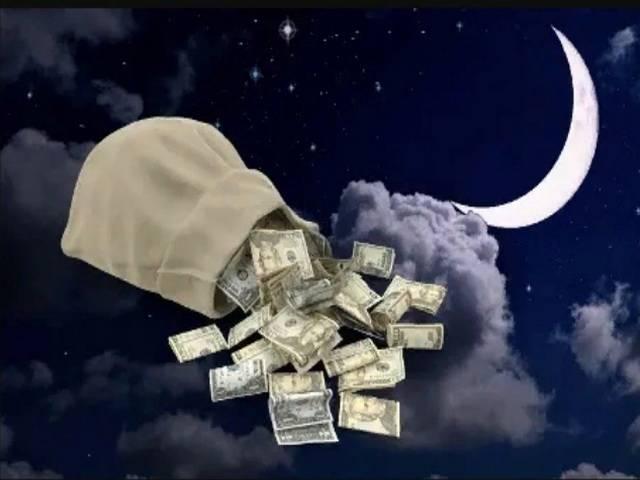 Самые сильные обряды на новолуние для привлечения денег ???? заговоры на деньги