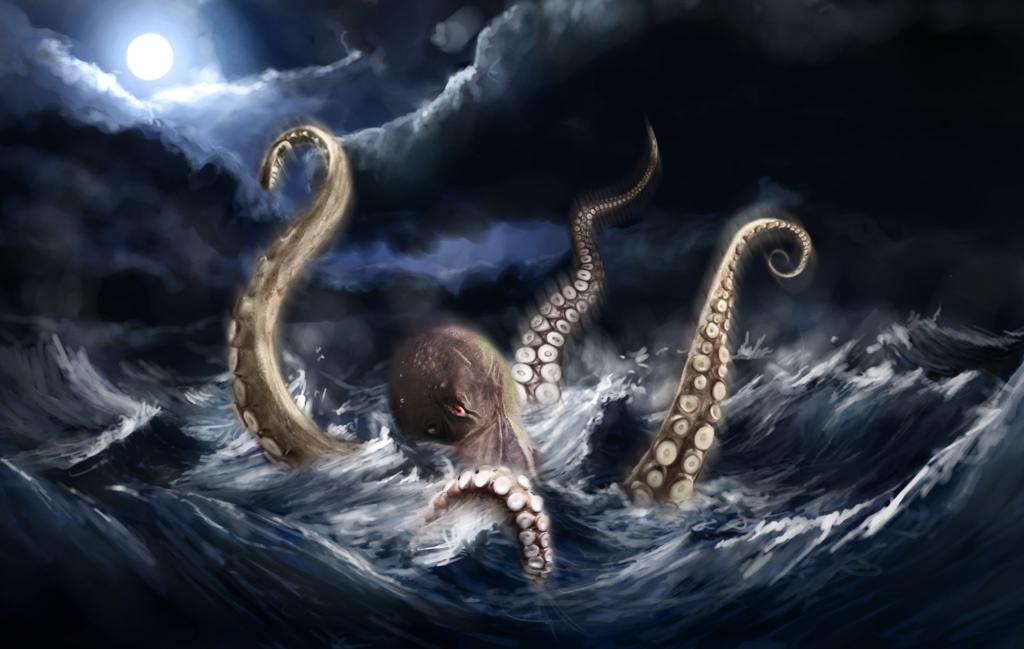 Кто такой кракен. кракен — легендарное чудовище из морских глубин кракен в различных источниках