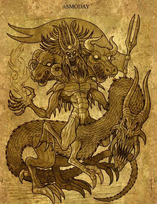 Демон асмодей — кто этот загадочный князь и что он может