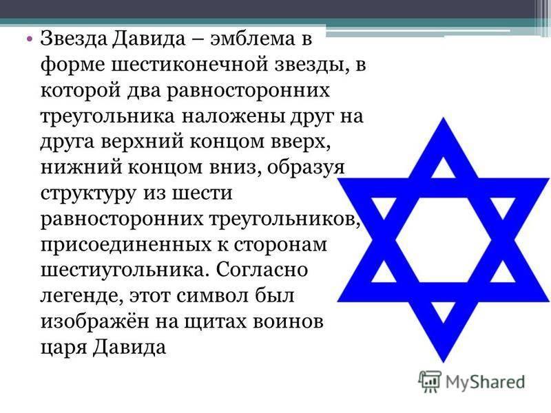 Звезда давида: значение символа (фото)
