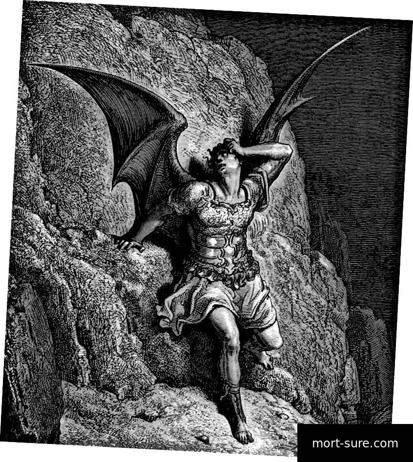 За что люцифер был изгнан из рая - история падшего ангела в библии