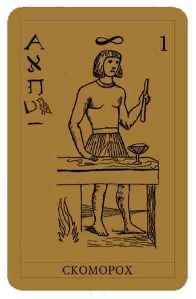 Сколько карт таро в колоде?