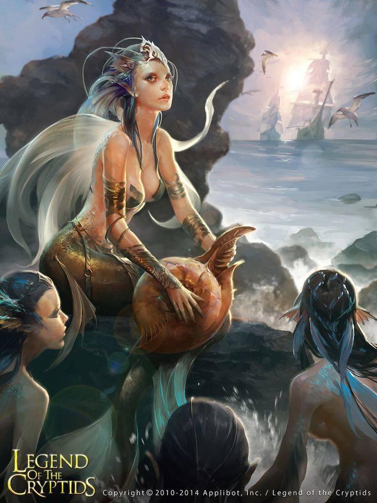 Сирены — полудевы-полуптицы с божественным голосом из греческой мифологии — земля до потопа: исчезнувшие континенты и цивилизации