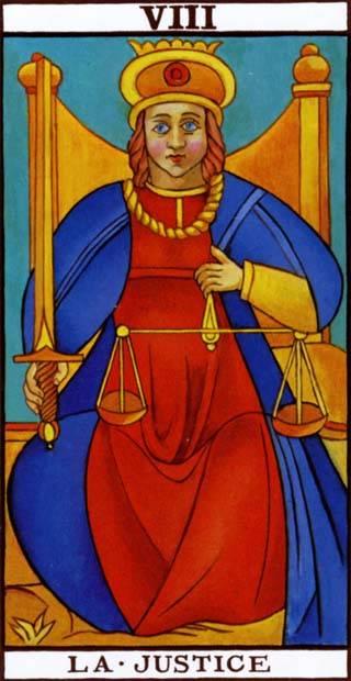 Старший аркан суд – значение карты таро