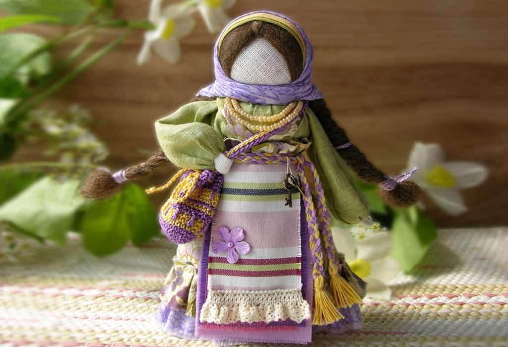 Кукла подорожница — верная спутница странника