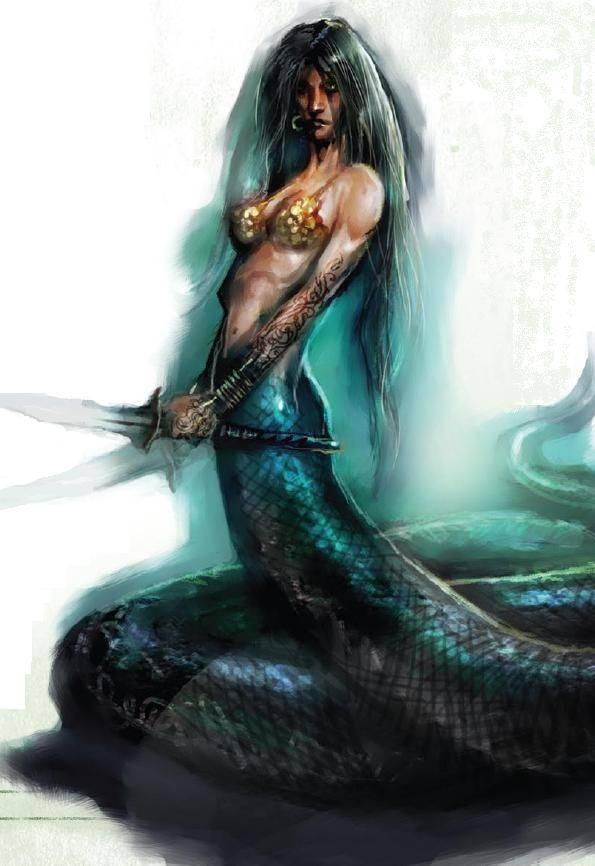 Ехидна мать чудовищ из греческих мифов