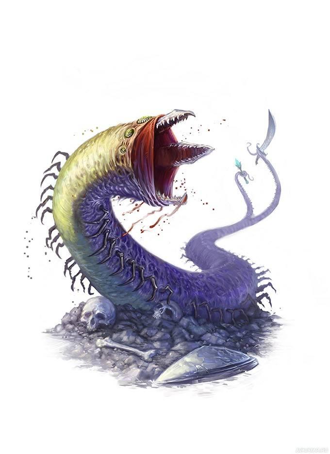 Ламбтонский червь — википедия. что такое ламбтонский червь