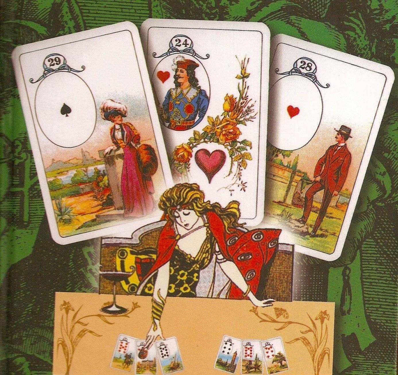 Что на сердце гадание на колоде игральных карт