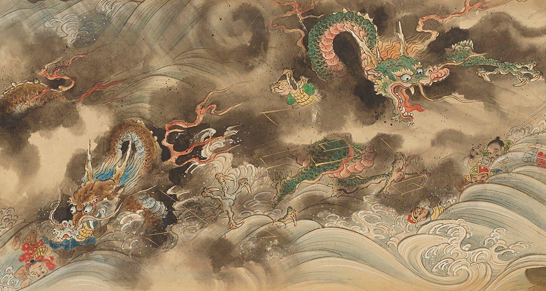 Японский дракон википедия