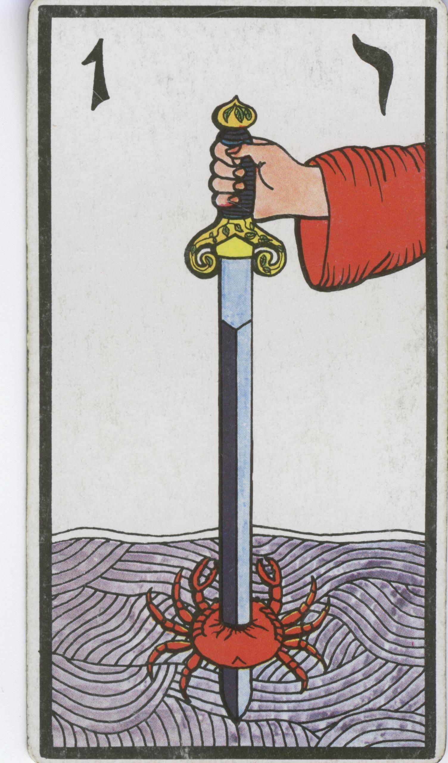 Значение карты таро — 10 мечей