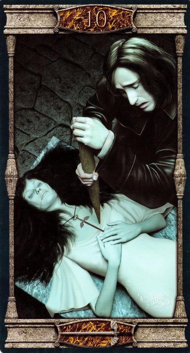 Готическое таро вампиров - значение карт и особенности раскладов