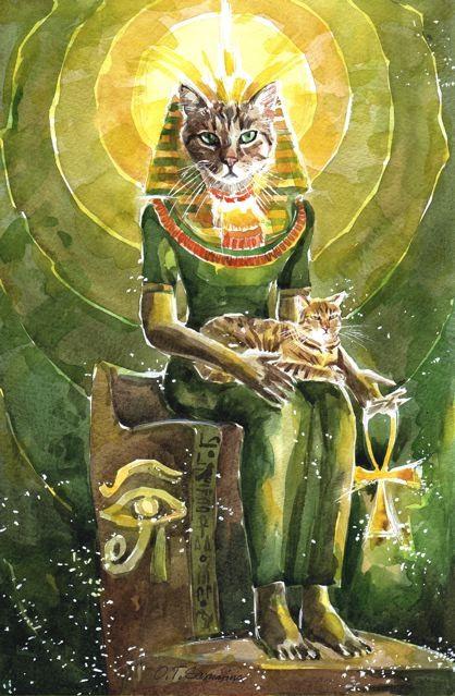 Образ кошки в русской и мировой литературе