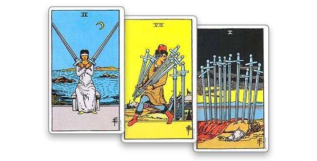 Значение туз мечей таро в разных сферах жизни