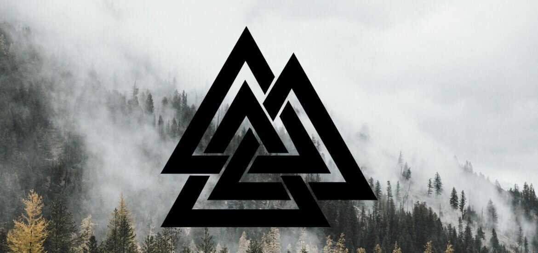 Валькнут - значение символа трех треугольников, как использоать оберег
