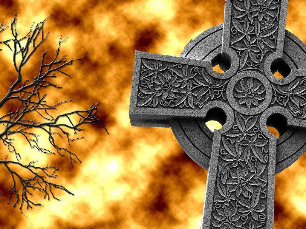 Кельтский крест – древний языческий символ