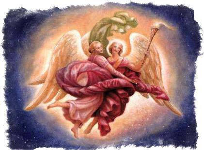 Архангел чамуил — сфера влияния воплощения розового пламени и молитвы