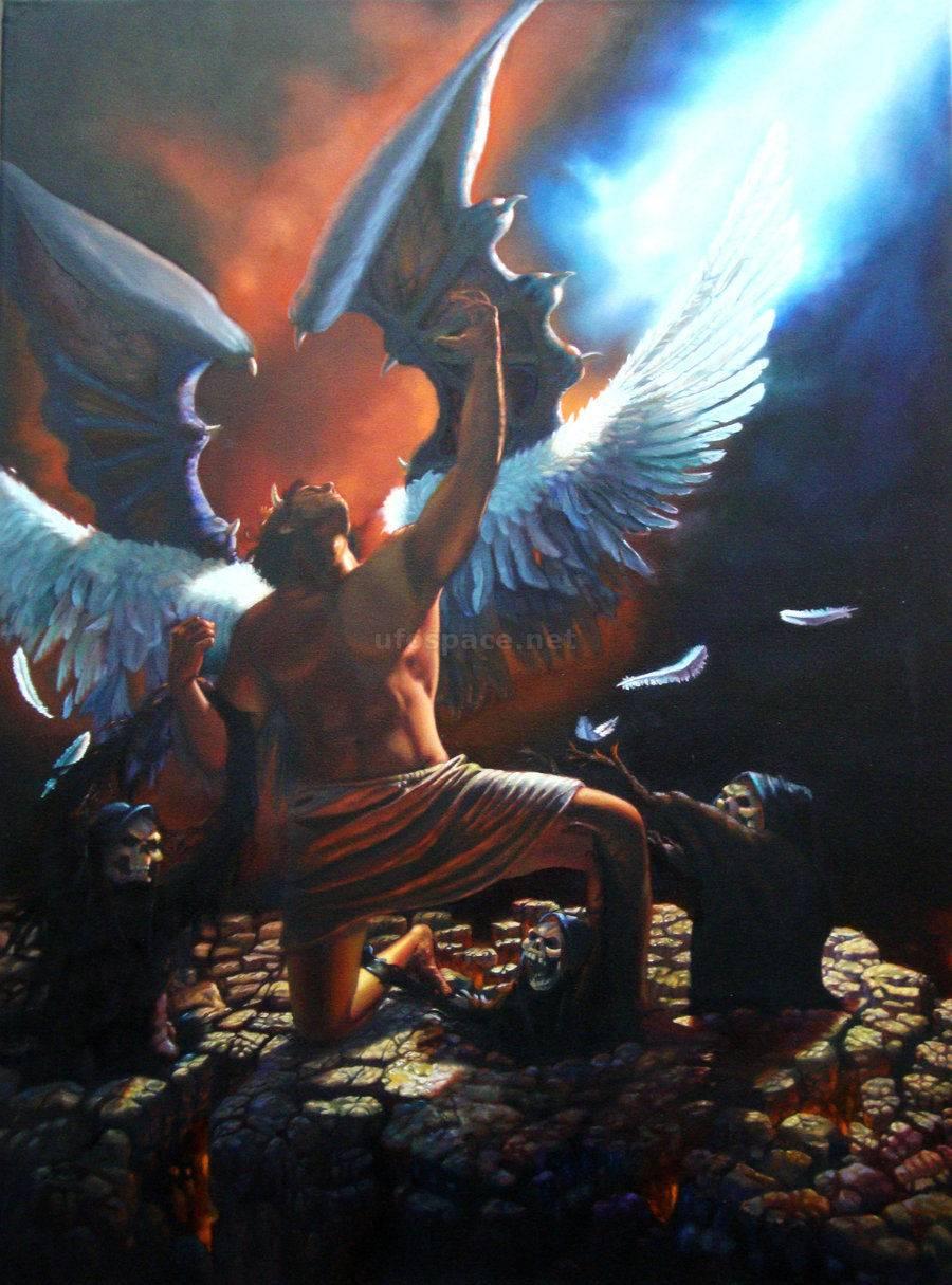 Падение люцифера в библии и его музей в ватикане