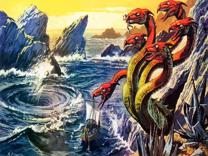 Семь легендарных морских чудовищ