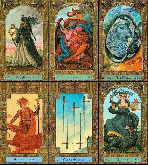 Таро царство фэнтези и другие классические колоды в этом жанре
