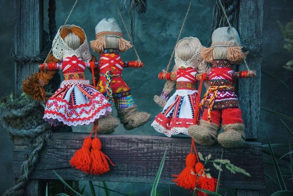 Исследовательская работа «кукла — оберег крупеничка»