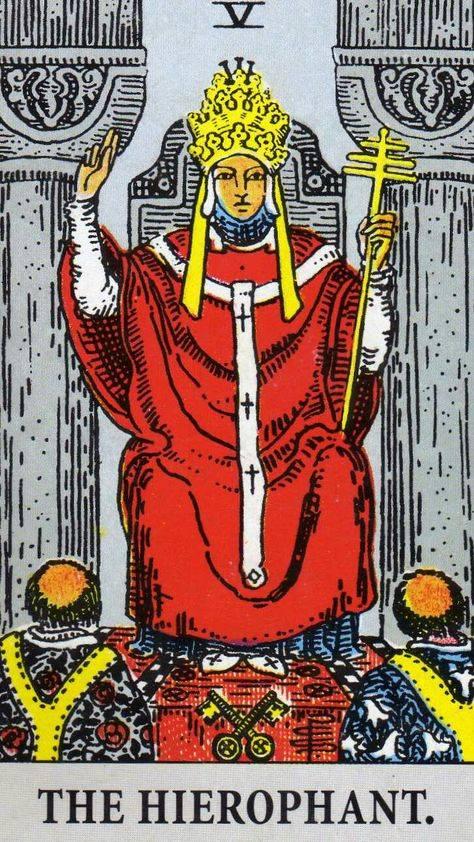 Иерофант (верховный жрец) в таро: значение, ключевые слова, виды