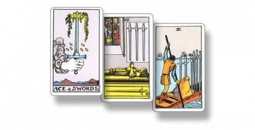 3 (тройка) мечей таро: значение в отношениях, здоровье, ситуации