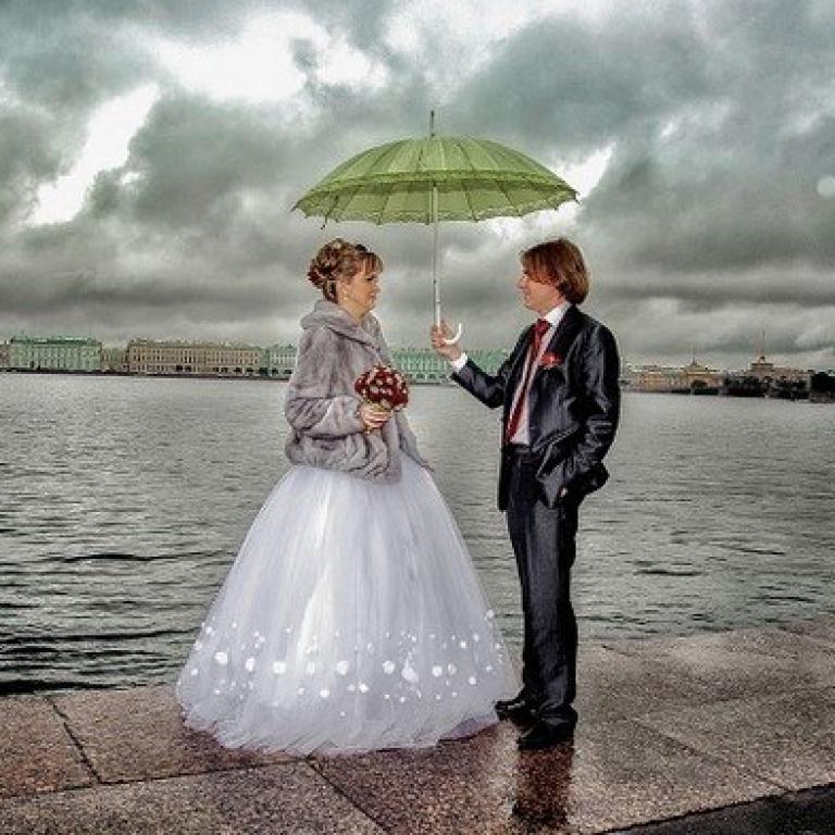 Что значит дождь в день свадьбы: приметы