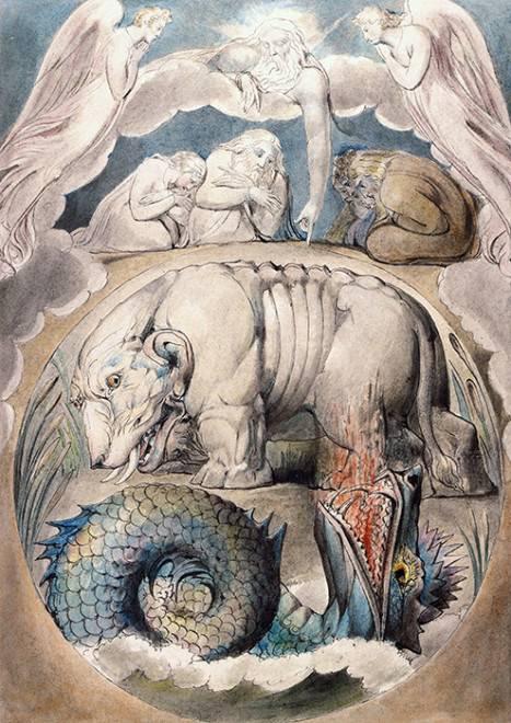 Морской змей левиафан